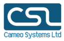 CAMEO SYSTEMS LIMITED