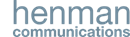 HENMAN COMMUNICATIONS LIMITED