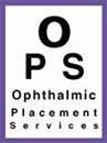 OPHTHALMIC PLACEMENT SERVICES LIMITED