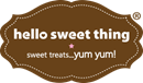 HELLO SWEET THING LIMITED